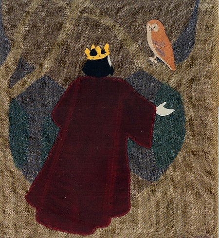 Scrapbook. King and Owl